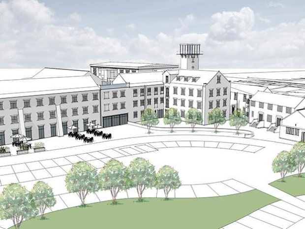 Plans for Walton Works site.